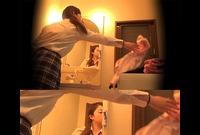 ☆K2(○7歳) シェアハウスの入居者⑱-1 着替えを隠し撮り(脱衣所) 和服が似合いそうな古風な女子