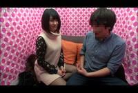 【素人ナンパ企画】男女友達同士!薄ラップ越しの素股ゲームで賞金ゲット?Vol.01